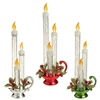 "RAZ IMPORTS 12"" GLITTERED CANDLE LAMP (Set of 3) SOLD OUT!!"