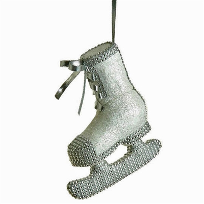 "RAZ IMPORTS 7.5"" ICE SKATE ORNAMENT (SET OF 4)"