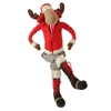 "RAZ IMPORTS 31.5"" SITTING MOOSE (OUT OF STOCK)"