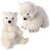 "RAZ IMPORTS 6.5"" POLAR BEAR (Set of 2)"