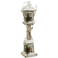 "RAZ IMPORTS 24"" LIGHTED LAMP POST"