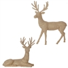 "RAZ IMPORTS 32"" RHINESTONE DEER  (SET OF 2)"
