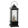 "RAZ IMPORTS 11"" LIGHTED SANTA LANTERN   SOLD OUT FOR SEASON"