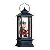 "Raz Imports 11"" Santa Lighted Water Lantern"
