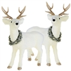 "Raz Imports 27.5"" White Deer (Set of 2)"