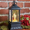 "Raz Imports 9.5"" Santa Lighted Water Lantern (OUT OF STOCK - SOLD OUT)"