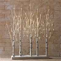 "RAZ IMPORTS 30"" LIGHTED BIRCH GROVE SOLD OUT FOR THE SEASON!"