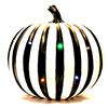 Season's design 13'' Pumpkin Decor With Multi LED Lights