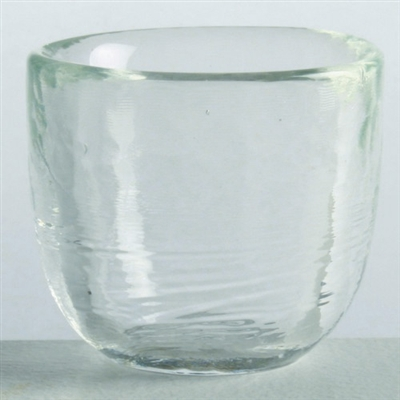 Tag Ariel hammered clear glass votive holders (set of 12)