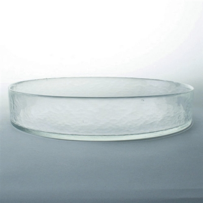 Tag Ariel hammered medium sized glass bowl (Set of 4)