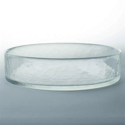 Tag Ariel hammered medium sized glass candle bowl (set of 4)