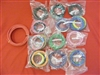 GM Colors or All-Black Custom labeled wire set - standard length
