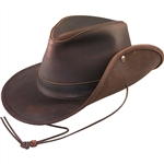 Leather Cowboy Hats - Henschel Leather Walker
