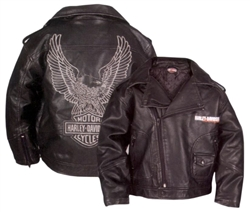 Harley Davidson Kids Motorcycle Jacket Leather Bound Online