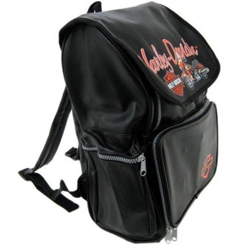 harley davidson kids backpack school bag. Black Bedroom Furniture Sets. Home Design Ideas