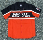 Harley-Davidson Boy Motorcycle Shop Shirt