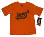 Harley-Davidson Toddler Girl Glitter T-Shirt