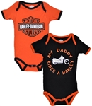 Harley-Davidson Baby Clothes: My Daddy Rides a Harley