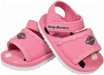 Harley-Davidson Baby Clothes: Pink Girl's Sandals