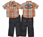 Harley-Davidson Toddler Boy Outfit - Clothes