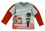 Harley-Davidson Infant Boy Motorcycle Shirt