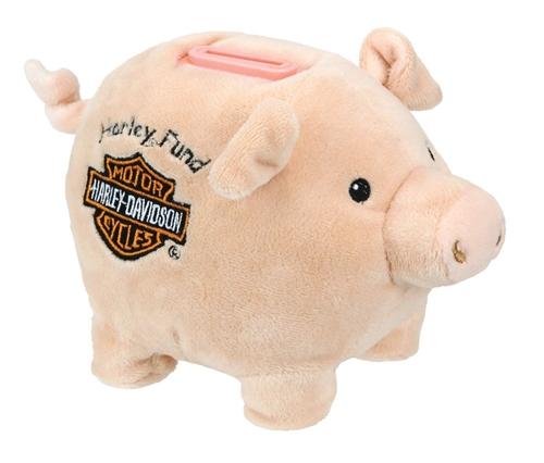 Kids Harley Davidson Piggy Bank Leather Bound Online