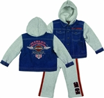 Harley-Davidson Infant Boy Denim Outfit
