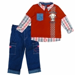 Harley-Davidson Toddler Boy Denim Outfit