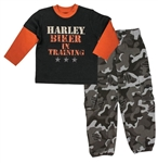Harley-Davidson Toddler Boy Outfit - Biker In Training
