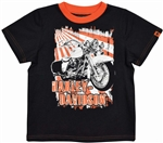 Harley-Davidson Boy Motorcycle T-Shirt