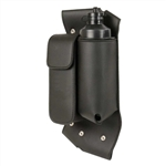 Left Motorcycle Crash Bar Bag: Water Bottle