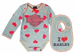 Harley-Davidson Baby Clothes: Girl's Love Outfit