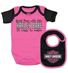 Harley-Davidson Baby Clothes: Girls Pink Outfit