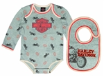 Harley-Davidson Baby Boy Motorcycle Body Suit
