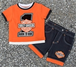Harley-Davidson Toddler Boy T-Shirt - Clothes