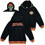 Harley-Davidson Boys Clothing: Skull Face Hoody Jacket