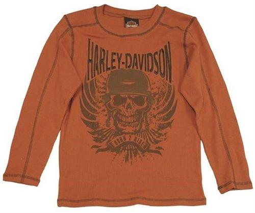 Harley Davidson Kids Clothes Boys Thermal T Shirt