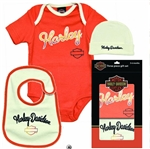 Harley-Davidson Baby Clothes - Infant Girls Gift Set