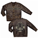 Toddler Boys Harley-Davidson Motorcycle Jacket