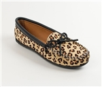 Leopard Minnetonka Moccasins for Women 387F