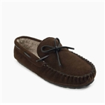 "Mens Minnetonka Moccasin Pile Lined ""Casey"" Slipper"
