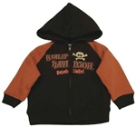 Harley Davidson Baby Clothes - Infant Hoody