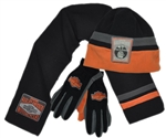 Harley-Davidson Kids Apparel: Boys Fleece Hat Set