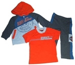Harley-Davidson Infant Boy Outfit - Shirt Hoody