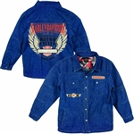 Harley-Davidson Toddler Boy Denim Shirt Jacket