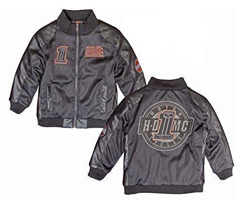 Toddler Boys Harley Davidson Motorcycle Jacket Mesh