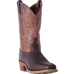 Laredo Mens Leather Cowboy Boots: Brown Merrick