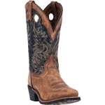 Laredo Mens Leather Cowboy Boots: Stillwater