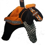 Harley-Davidson Toddler Fleece Winter Hat & Mittens