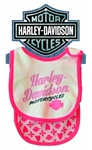 Harley-Davidson Baby Clothes: Girls Bib Gift Pack
